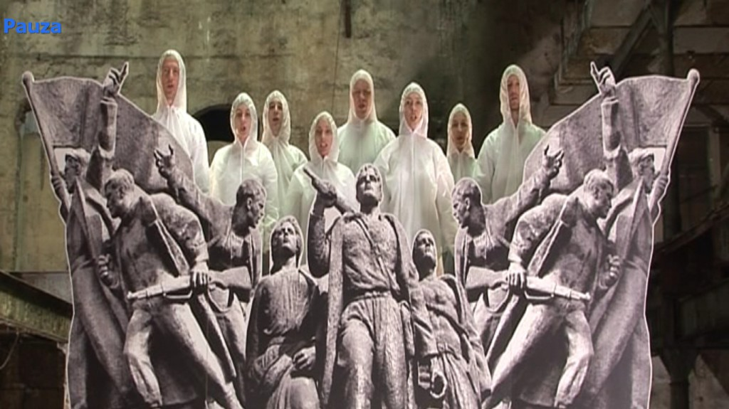 Chto Delat, Partisan Songspiel. A Belgrade Story, 2009, a frame form the video